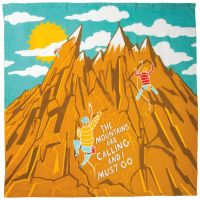 Dish Towel - The Mountains are Calling