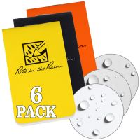 On The Go Stapled Notebook 3 X 2 (6-Pack)