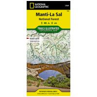 Trails Illustrated Map: Manti-Lasal National Forest - Dark Canyon