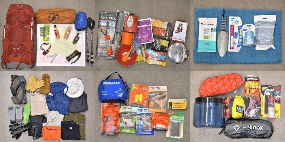 25461e87e8b Backpacking Gear List